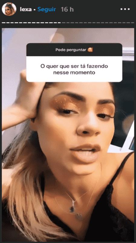 Lexa - Reprodução / Instagram - Reprodução / Instagram