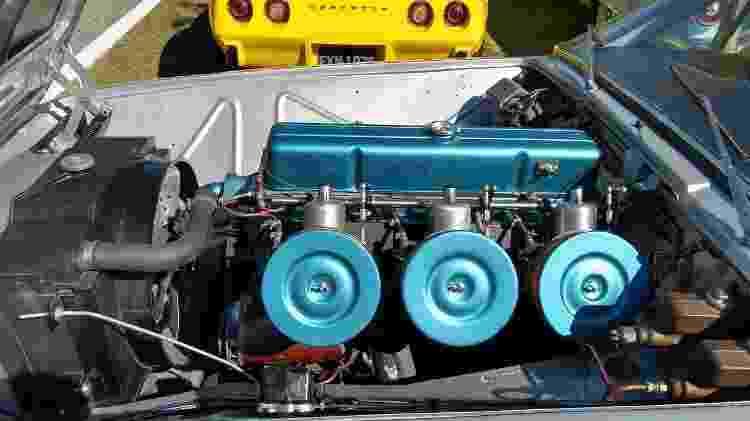 Brasinca 4200 GT Uirapuru carro do reinaldo da costa 1965 chassi 7 motor - Arquivo pessoal - Arquivo pessoal