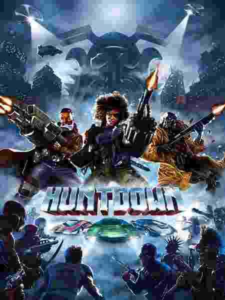 Huntdown capa - Divulgação - Divulgação