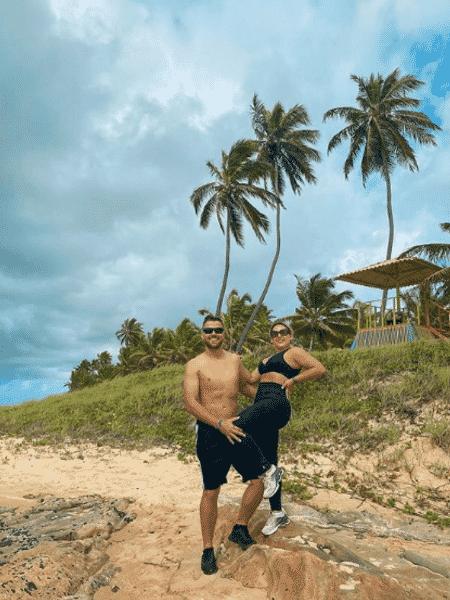 """Natália Toscano """"protegeu"""" o marido Zé Neto após publicação derrubada pelo Instagram - Reprodução/Instagram/@nataliaftoscano"""