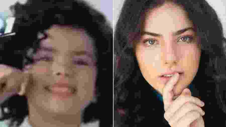 Rafaela Romolo estrelou a campanha de uma companhia telefônica como sósia mirim de Ana Paula Arósio - Reprodução/Instagram