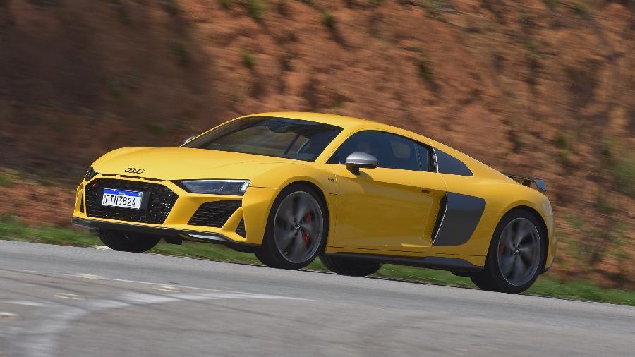 Audi R8 V10 deve ter o motor amaciado até o cupê rodar 1.500 km, alerta a respectiva fabricante - Murilo Góes/UOL