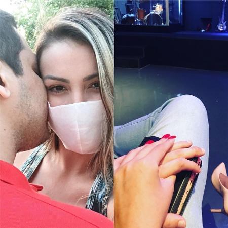 """Andressa Urach frequenta nova igreja com namorado """"misterioso"""" - Reprodução / Instagram"""