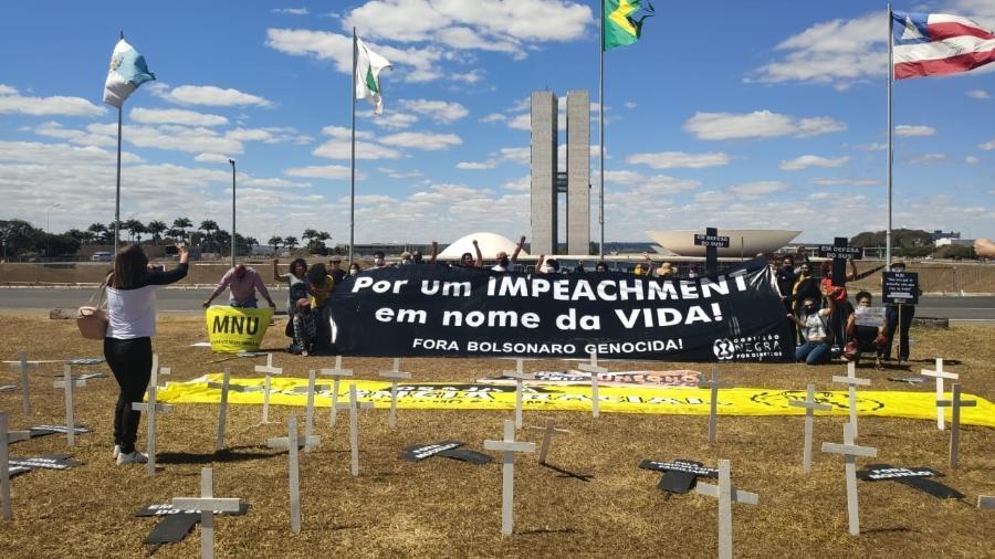 Coalizão Negra por Direitos pede impeachment de Bolsonaro - Divulgação/Coalizão Negra por Direitos