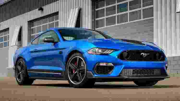 Ford Mustang Mach 1 2021 - Divulgação - Divulgação