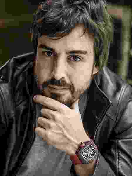 Fernando Alonso para campanha da Richard Mille - Divulgação - Divulgação