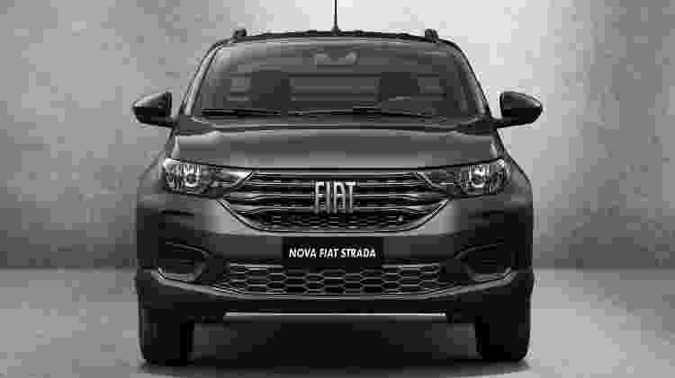 Fiat Strada Endurance Cabine Plus 1.4 - Divulgação - Divulgação