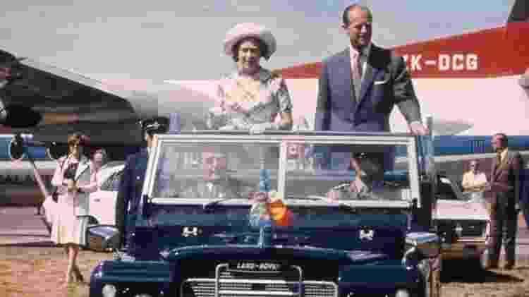O casal visitou a Nova Zelândia em 1977. Muitos dos tributos mais calorosos vieram da Comunidade Britânica - BBC - BBC