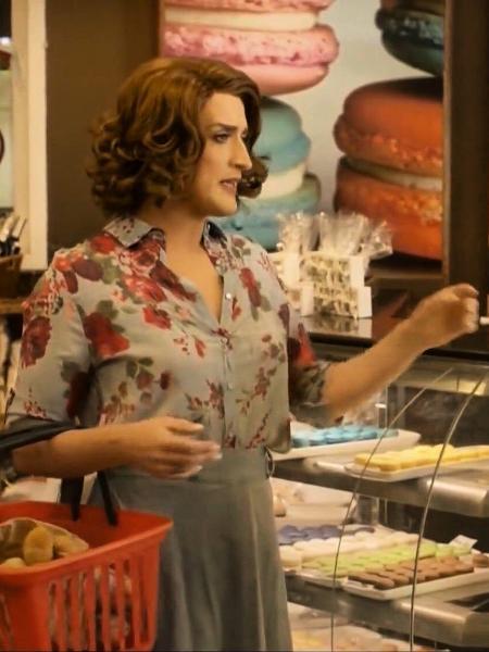 """Paulo Gustavo na padaria Beira Mar no filme """"Minha Mãe É uma Peça"""" - Reprodução"""