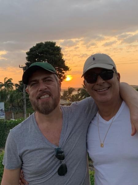 Anderson Müller e o marido, o médico Paulinho - Reprodução/Instagram