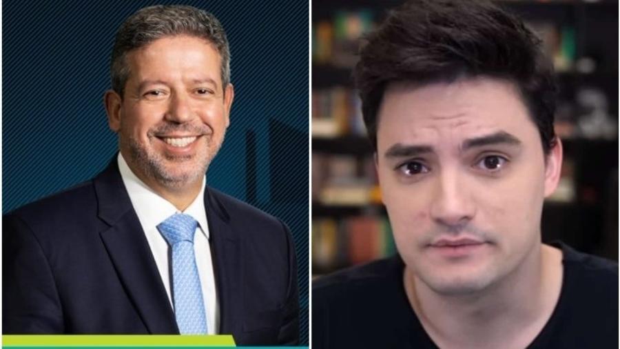 "Felipe Neto chamou Arthur Lira de ""covarde"" - Reprodução: Twitter"