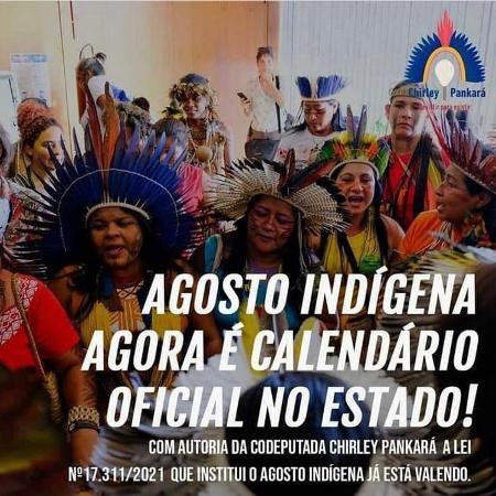 Agosto indígena - Acervo Pessoal/Chirley Pankará