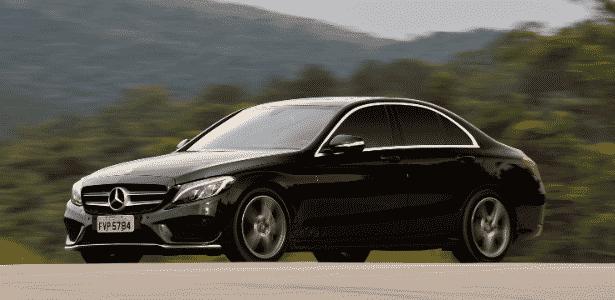 Mercedes fará do C180 até o C250 (foto) no Brasil, mas só versão 1.6 beberá etanol - Murilo Góes/UOL