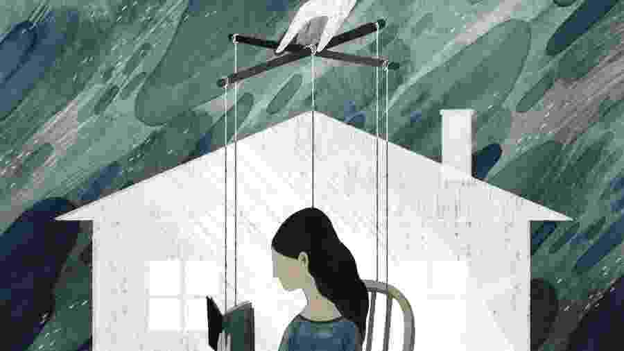 O controle coercitivo descreve uma estratégia contínua com táticas que incluem manipulação, humilhação, isolamento, violência financeira e perseguição - Maggie Chiang/The New York Times