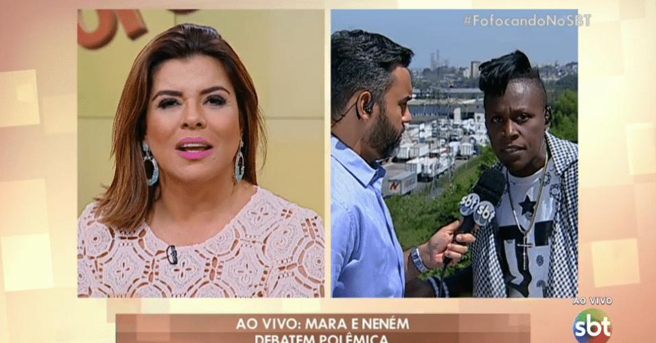 28.out.2016 - Fofocando - Mara Maravilha