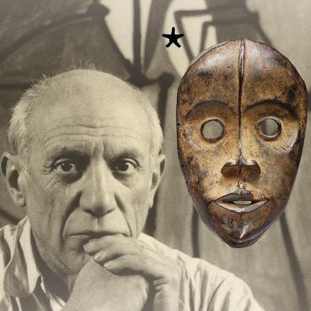 """Flyer da exposição """"Picasso Primitif"""" - Divulgação"""