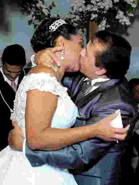Elis e Luiz Carlos se casam um espaço batizado de Reality Festa - Marcello  Sá Barretto / AgNews - Marcello  Sá Barretto / AgNews