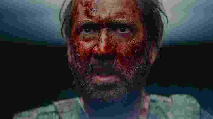 """Em """"Mandy"""", atuação de Nicolas Cage vai do mais contido ao ápice do surtado em menos de 2h - Divulgação"""