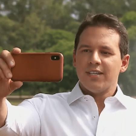Dony de Nuccio ensina como gravar vídeo no Ibirapuera em São Paulo - Reprodução/Globo