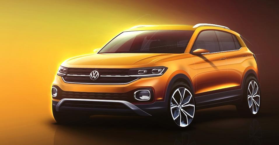 Volkswagen T-Cross esboço