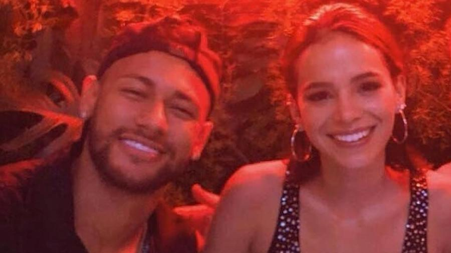 Neymar e Bruna Marquezine em tempo integral de festas e comemorações - Reprodução/Instagram
