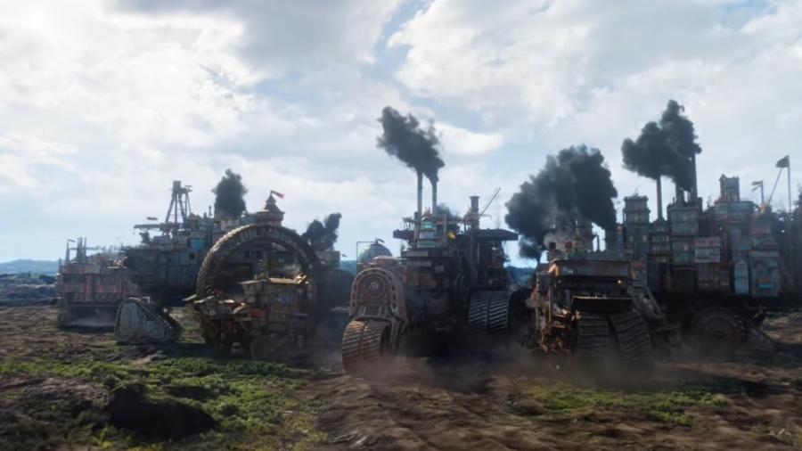 """Cena do trailer de """"Máquinas Mortais"""" - Reprodução"""