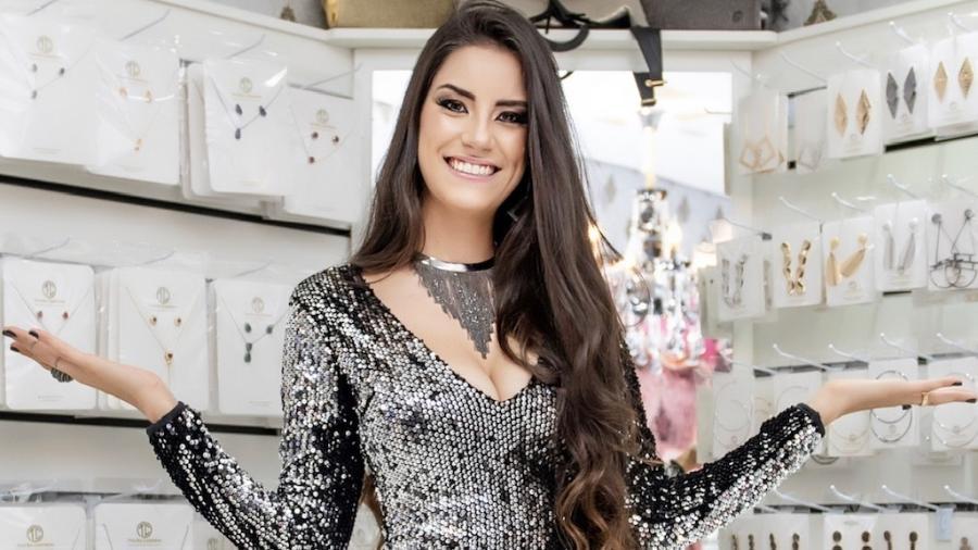 Thayra Cadorini, mulher do sertanejo Hudson - Paula Pedron e Eliane Gomes/Divulgação