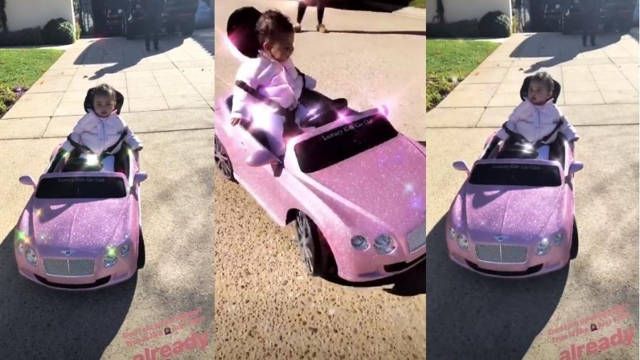 Filha de Kloe Kardashian ganha carrão aos 8 meses de idade - Reprodução/Instagram