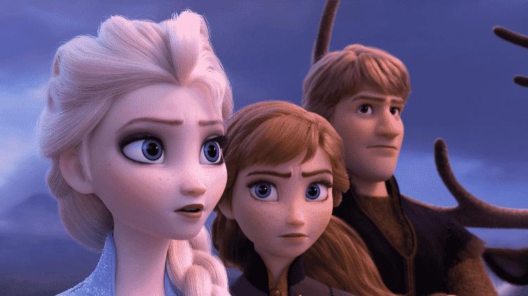 'Frozen 2', um dos títulos mais populares entre os aluguéis nas operadoras de TV à cabo - Reprodução
