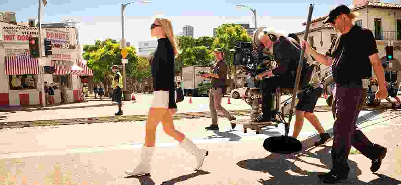 """Margot Robbie como Sharton Tate em """"Era Uma Vez em... Hollywood"""" - Divulgação"""