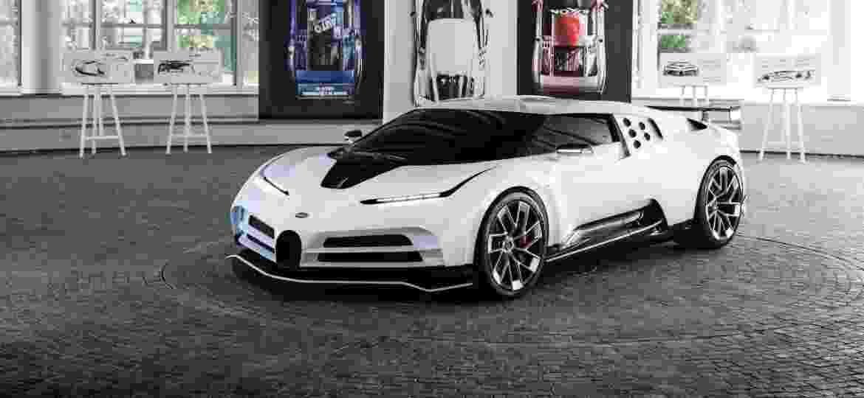 Centodieci é um dos cinco modelos da Bugatti entre os mais potentes do mundo - Divulgação