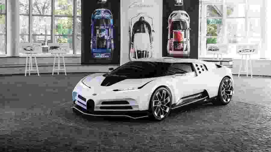 Bugatti Centodieci - Divulgação