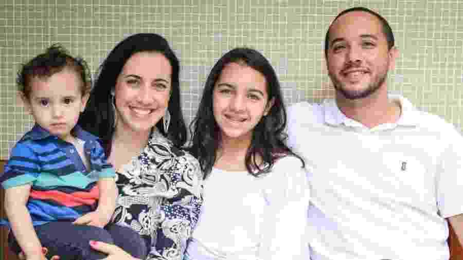 Luiza e sua família: diálogo aberto sobre tecnologia - Divulgação