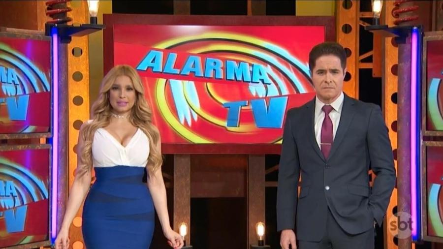Alarma TV foi ao ar de manhã no SBT  - Reprodução