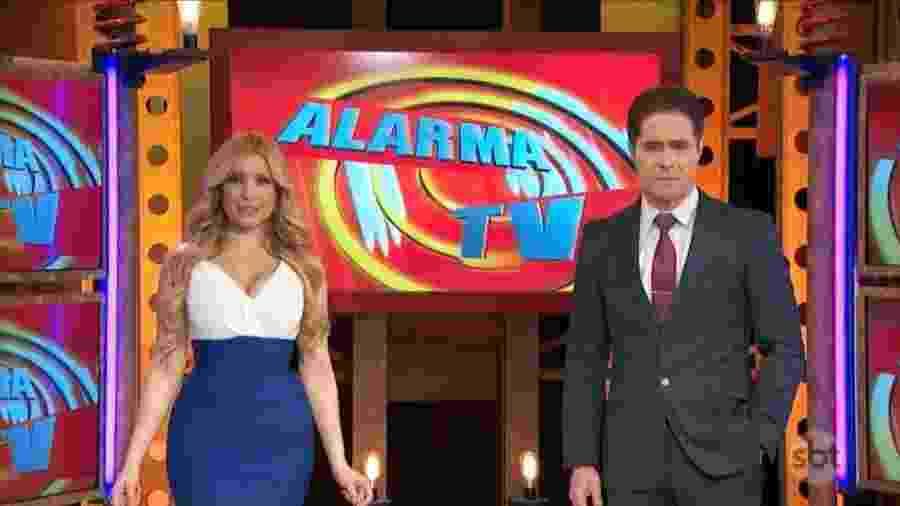 """""""Alarma TV"""", um """"jornal de horror"""", que o SBT insiste em manter na sua programação - Reprodução"""