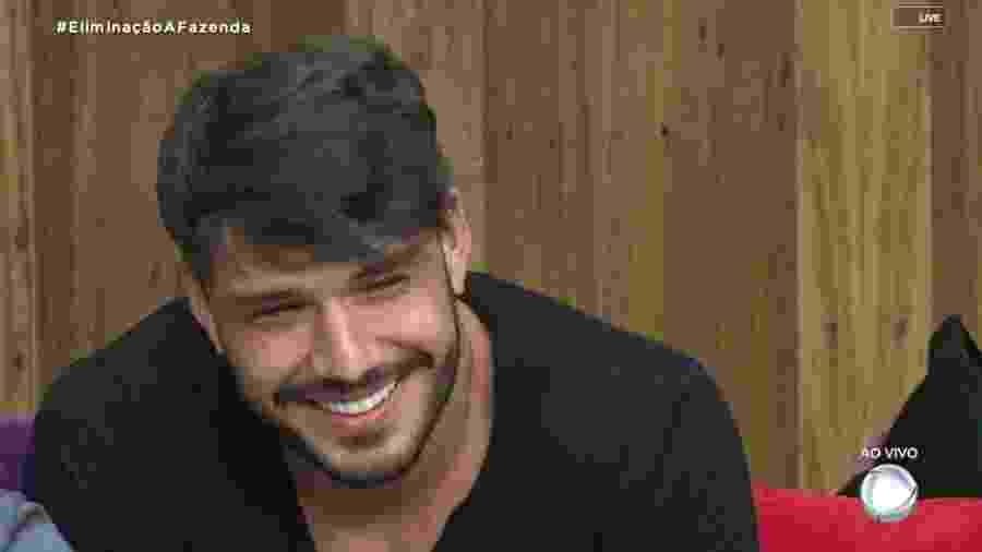 Lucas Viana na Fazenda 2019 - Reprodução/RecordTV