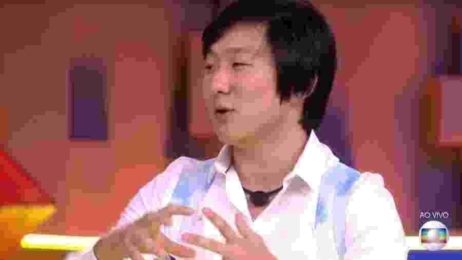 Pyong foi o oitavo eliminado do BBB 20 e admitiu ter ótima condição financeira - Reprodução/TV Globo