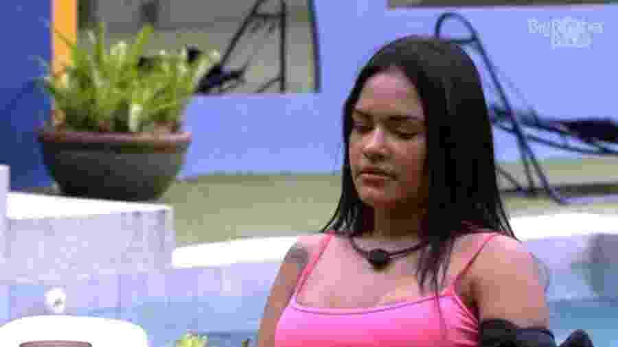 BBB 20: Flayslane conversa com Mari - Reprodução/Globoplay