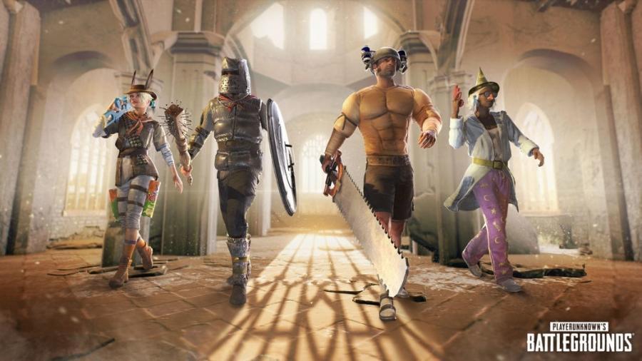 Jogo de tiro vai ganhar personagens de RPG como Mago e Bárbaro, além de modificações em mapas e veículos - Divulgação