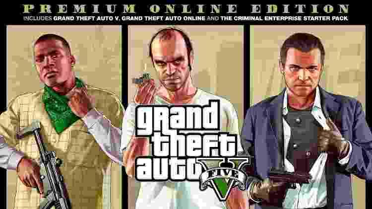 GTA V Premium Edition - Divulgação/Rockstar - Divulgação/Rockstar