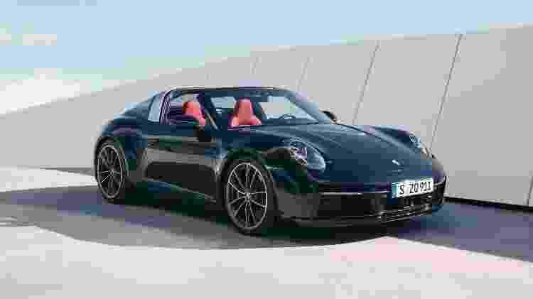 Porsche 911 Targa 4 - Divulgação - Divulgação