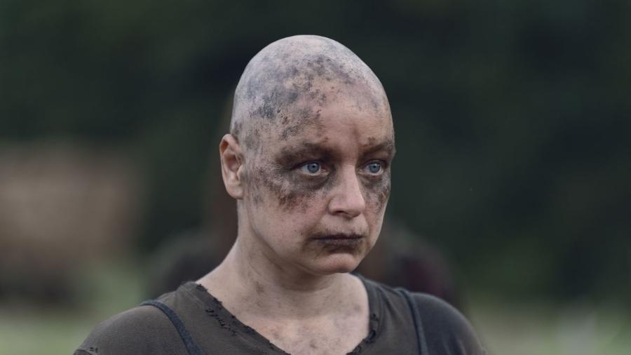 """Samantha Morton caracterizada como Alpha em """"The Walking Dead"""" - Reprodução"""