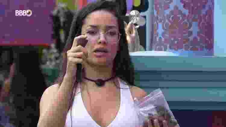 BBB 21: Juliette leva bronca da produção ao fazer tutorial de maquiagem - Reprodução/ Globoplay - Reprodução/ Globoplay