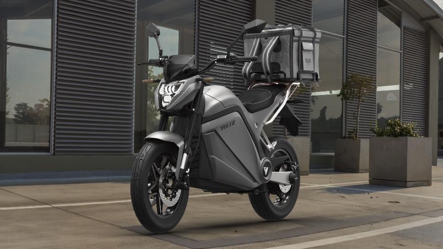 Batizada de EVS Work, versão tem maior autonomia - 240 km - e deve custar entre R$ 13.990 e R$ 15.990 - Divulgação