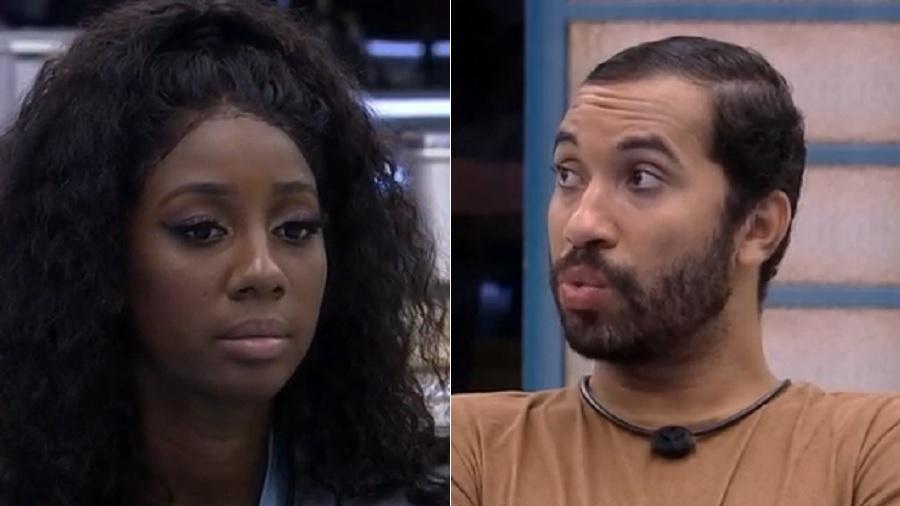 BBB 21: Camilla e Gilberto levam chamada de atenção por recado sobre votos - Reprodução/Globoplay