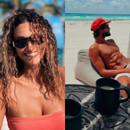 Débora Nascimento e Marlon Teixeira - Reprodução/Instagram