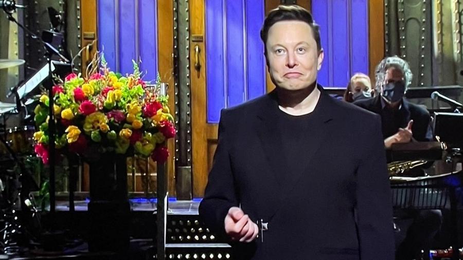 Elon Musk estreia no Saturday Night Live - Reprodução YouTube