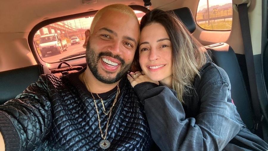 Projota comemora aniversário de casamento com Tammy Contro - Reprodução/Instagram