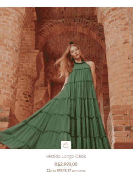Vestido usado por Juliette esgotou - Reprodução - Reprodução