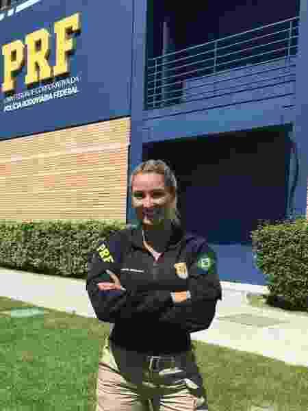 Silmara Miranda atua como policial da PRF e mostra a sua rotina nas redes socais - Reprodução/Instagram - Reprodução/Instagram